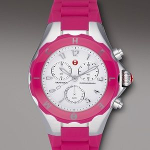 AUTHENTIC PINK JELLY/TAHITIAN BAND MICHELE WATCH